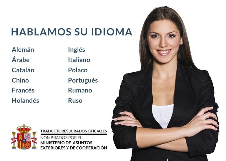 Traductor Jurado Oficial
