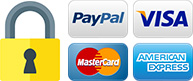 Pago seguro con PayPal o tarjeta