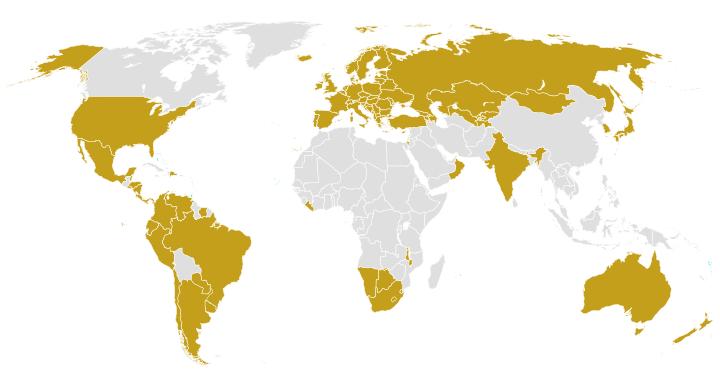Apostilla de la Haya - Países Miembros