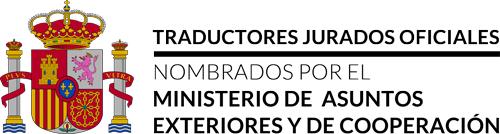 Traductores jurados oficiales nombrados por el Ministerio de Asuntos Exteriores y de Cooperación