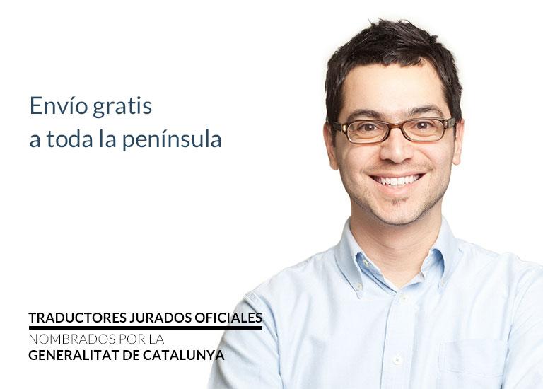 Traducción jurada de catalán