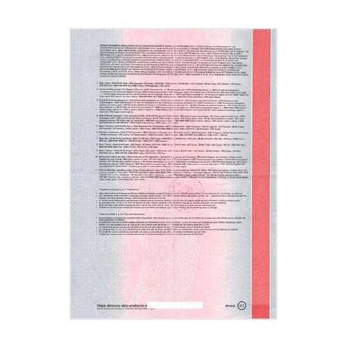 Certificado de matrimonio Polonia
