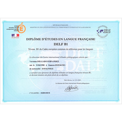 Diploma DELF-DALF